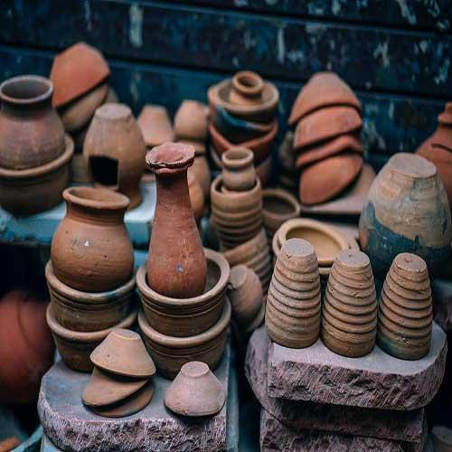 Pots : Clay Pots